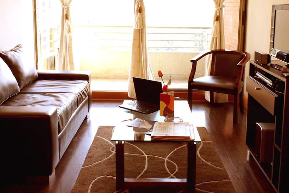 Habitación individual ejecutiva, 1 cama doble - Sala de estar
