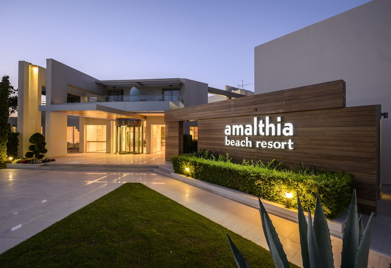 Atlantica Amalthia Beach Hotel – Adults only, Chania, Hotel Front