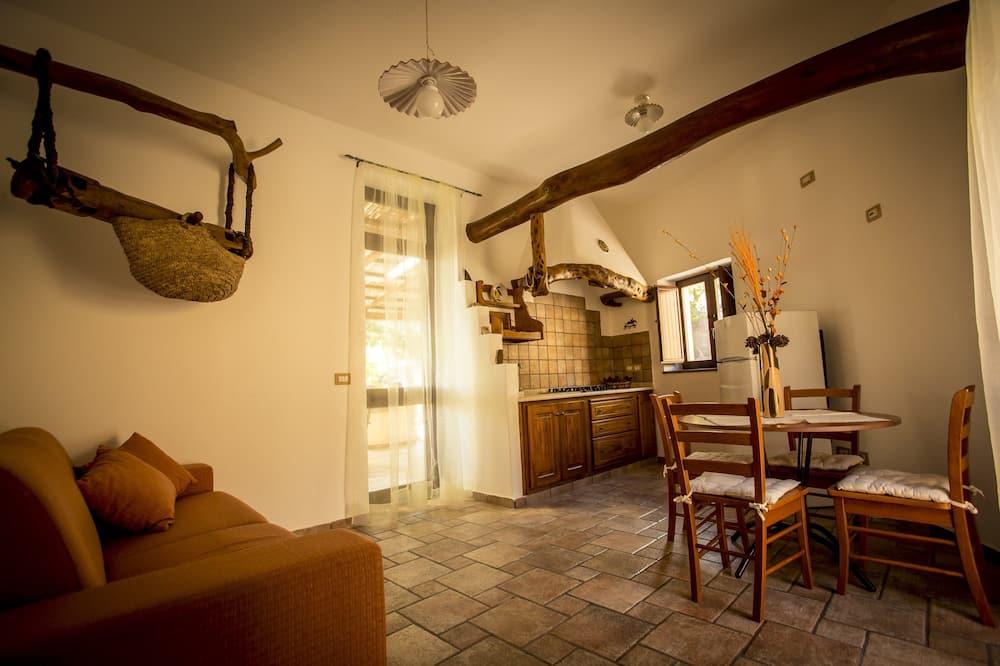 Апартаменти категорії «Superior», кухня, з видом на море - Житлова площа