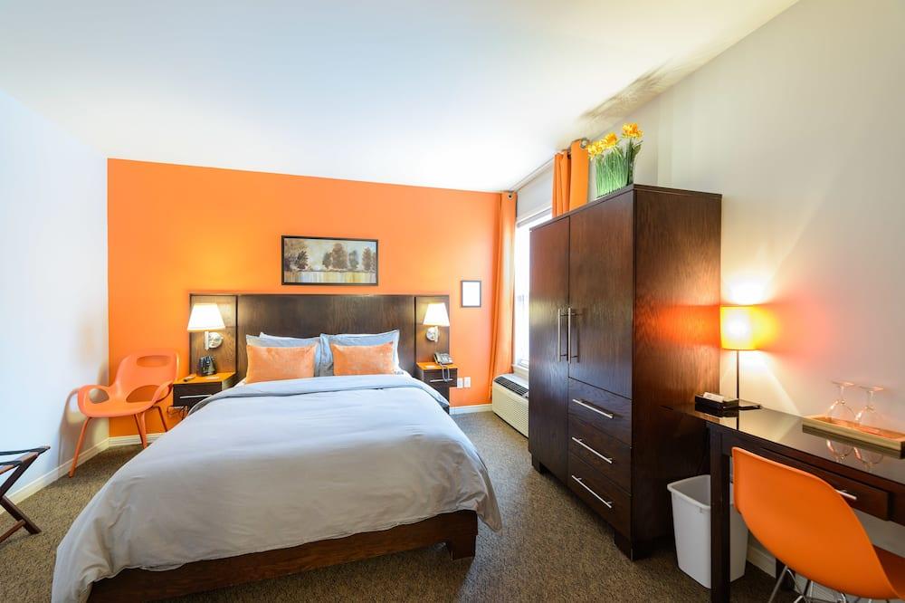 Superior-værelse - 1 queensize-seng - ikke-ryger - Opholdsområde