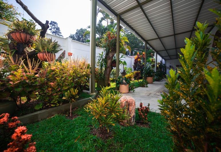 Hotel Greenview, Medellin, Trädgård