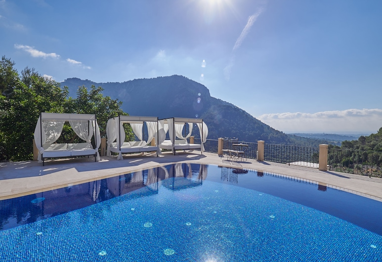 Finca Hotel Albellons Parc Natural, Selva, Piscina