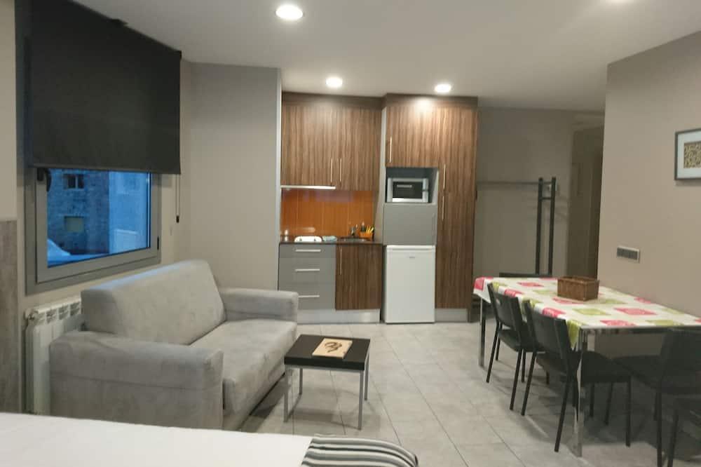 Dzīvokļnumurs, viena guļamistaba (5 pax) - Dzīvojamā istaba