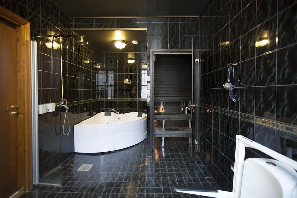 Superior İki Ayrı Yataklı Oda, Sauna - Banyo