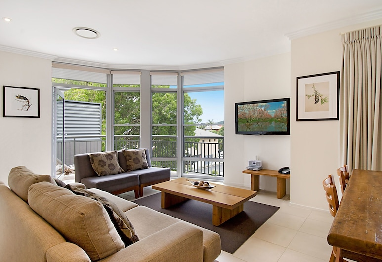 Byron Bay Hotel & Apartments, Byron Bay, Apartment, 2 Bedrooms, Living Area