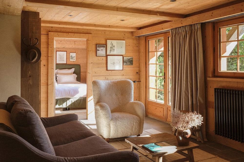 جناح عائلي - غرفة نوم واحدة - غرفة معيشة
