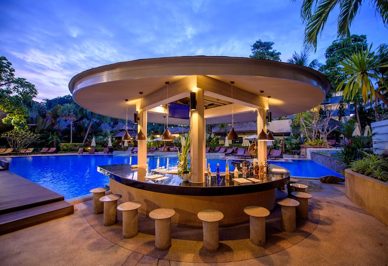 Krabi La Playa Resort, Krabi, Bar vid poolen