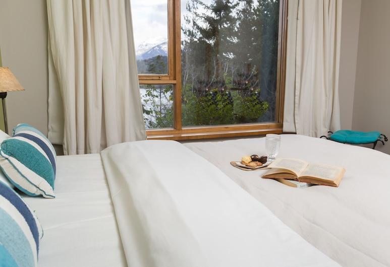 Peninsula Petit Hotel, San Carlos de Bariloche, חדר סטנדרט זוגי או טווין, חדר אורחים