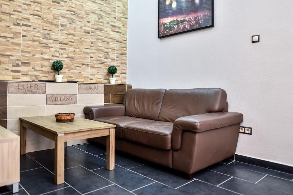 Dizajnový apartmán, 2 spálne, kuchyňa - Obývačka