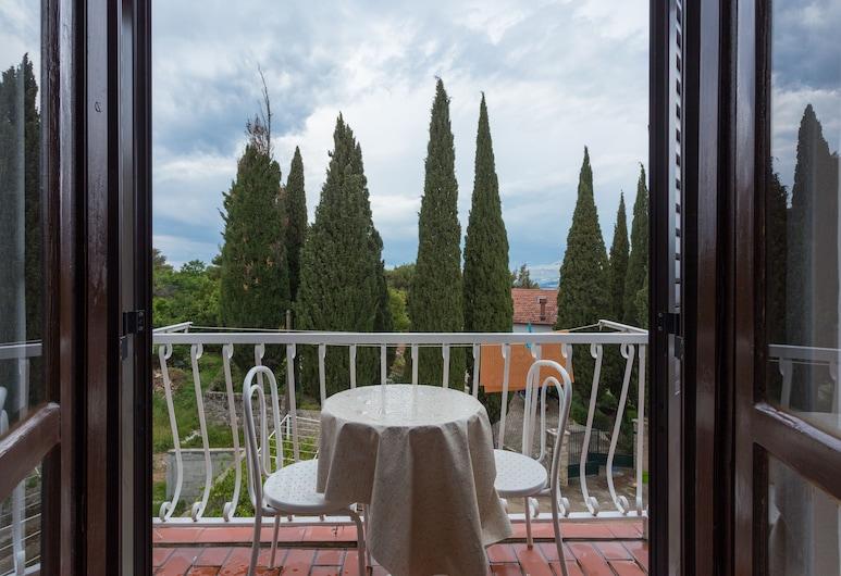 Villa Anka, Конавле, Апартаменти, з балконом, з частковим видом на океан, Балкон
