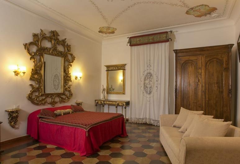 Navona Governo Vecchio, Rom, Quadruple Room, Bilik Tamu