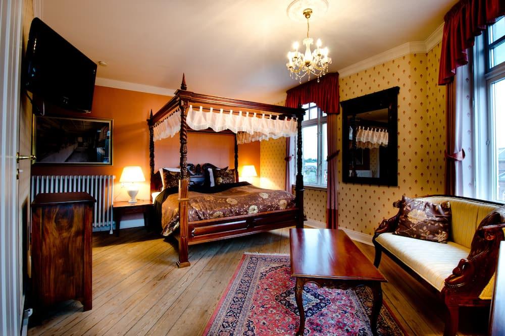 Comfort szoba kétszemélyes ággyal - Nappali rész