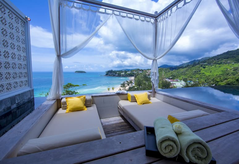 The Shore at Katathani, Karon, Seaview Pool Villa - One Bedroom (adults only hotel), Terrace/Patio