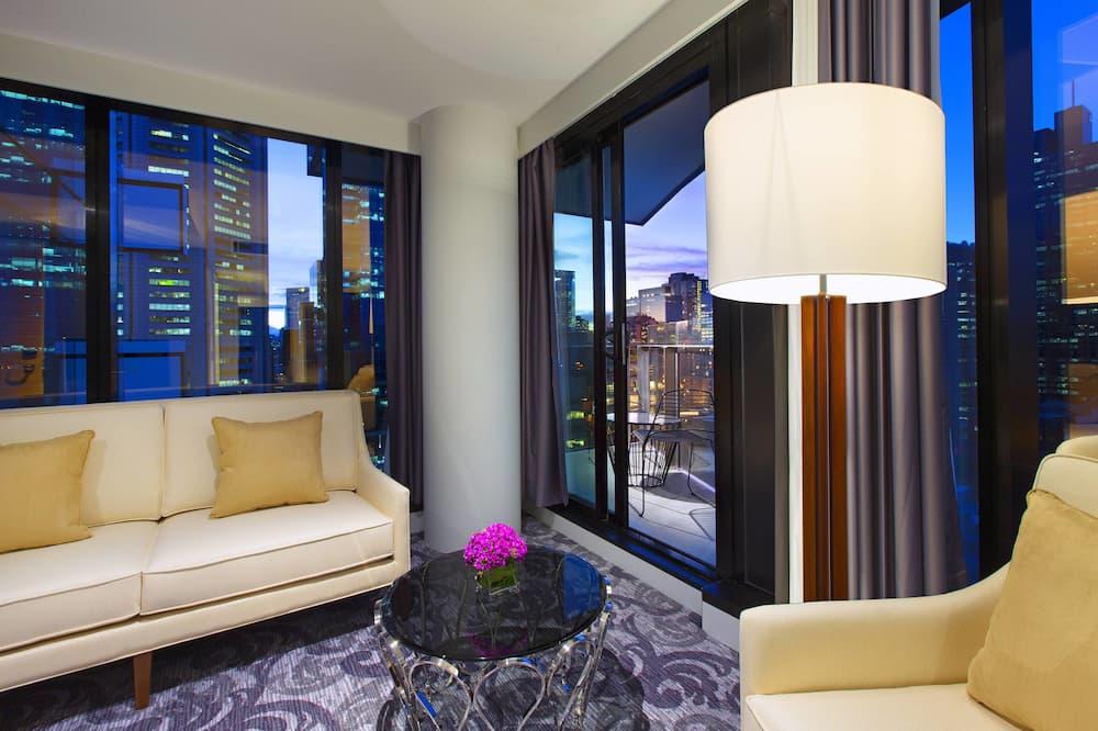 City Suite, 1 Bedroom, Terrace, City View - Guest Room