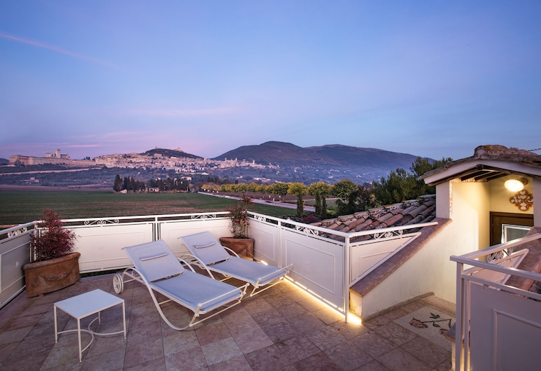 Il Roseto Country House, Assisi, Suite, Terrasse/Patio