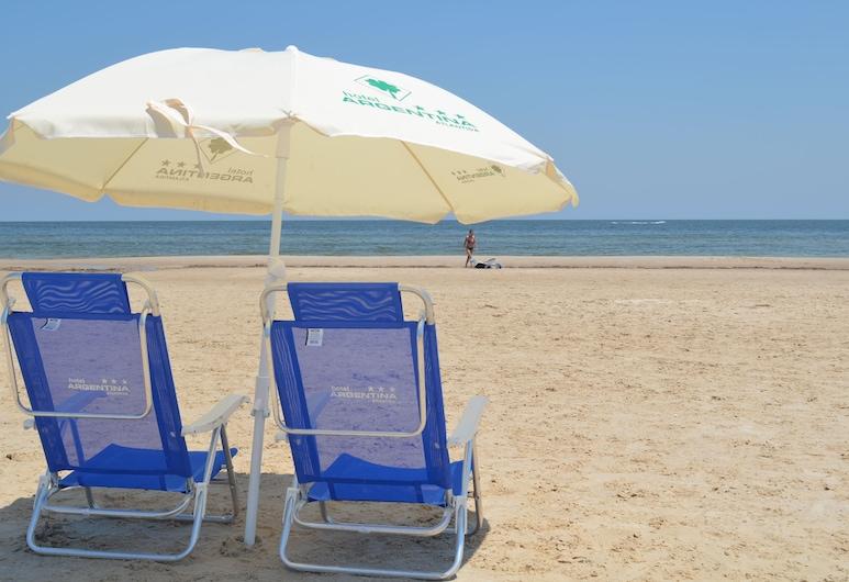 阿根廷酒店, 阿特蘭蒂達, 海灘