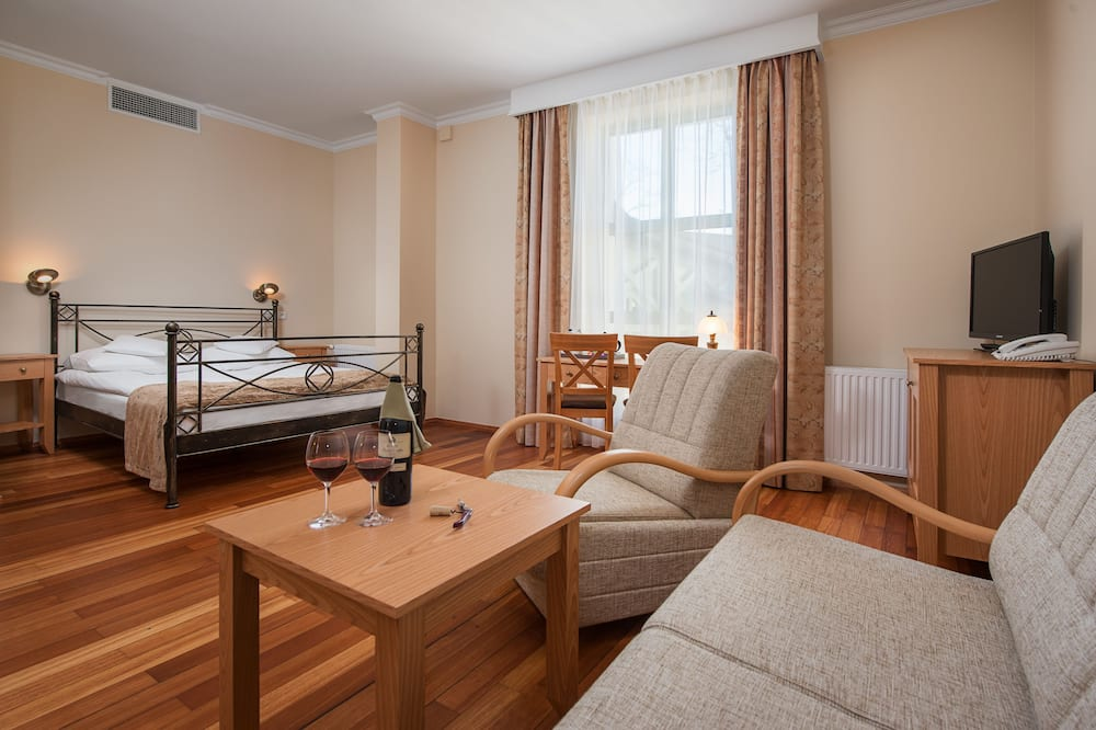 Deluxe Double Room, 1 Double Bed - Living Area