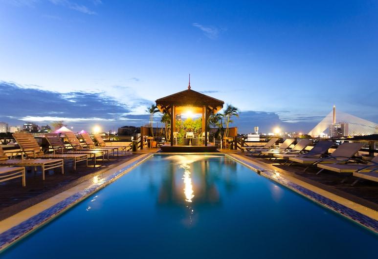 カオサン パレス ホテル, バンコク, 屋上プール