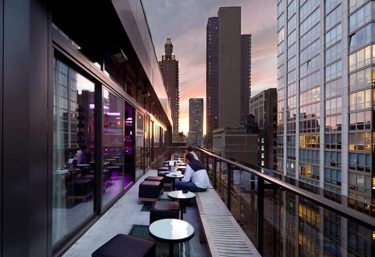 Royalton Park Avenue, New York, Terrazza/Patio