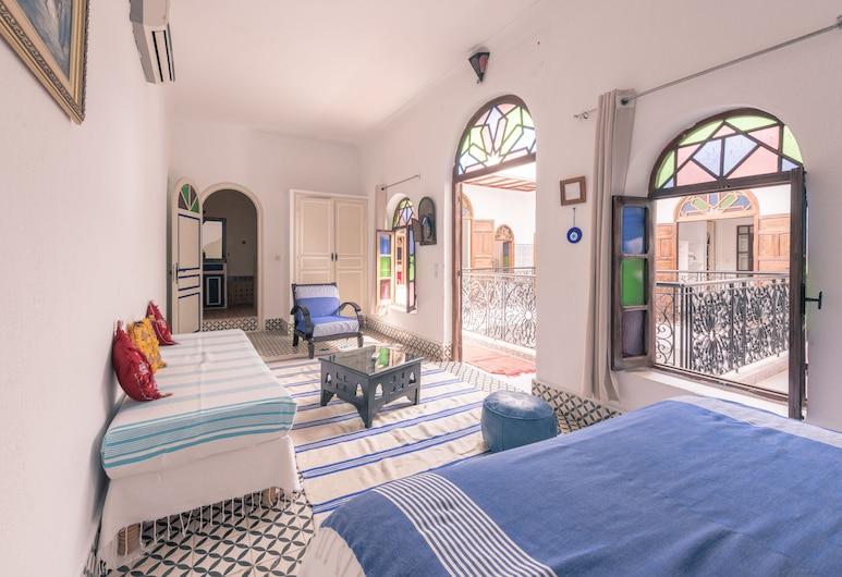 Dar Nawfal, Sale, Tweepersoonskamer (Essaouira), Uitzicht vanaf kamer