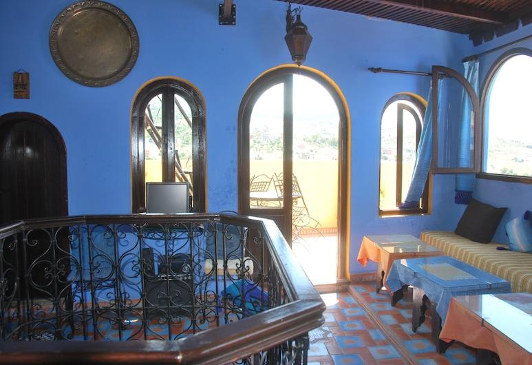 Dar Zman Guest House, Chefchaouen, Salottino della hall