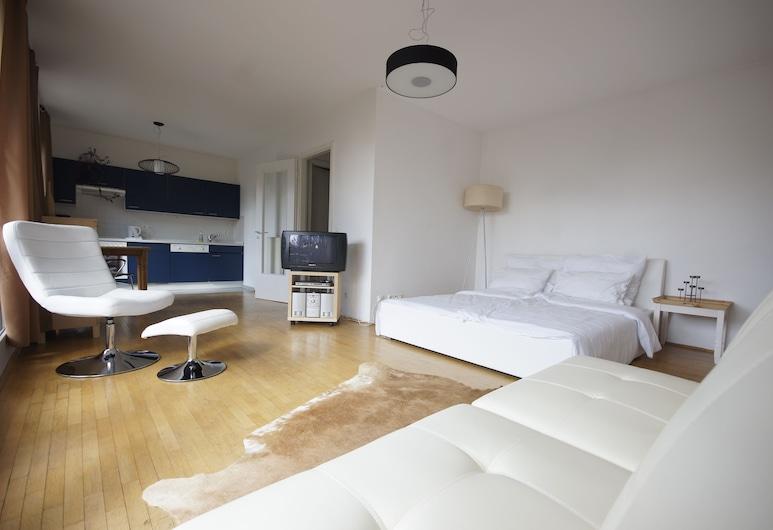 MIDI Inn - Parkhotel Mitte, Berlino, Appartamento (Park View), Area soggiorno