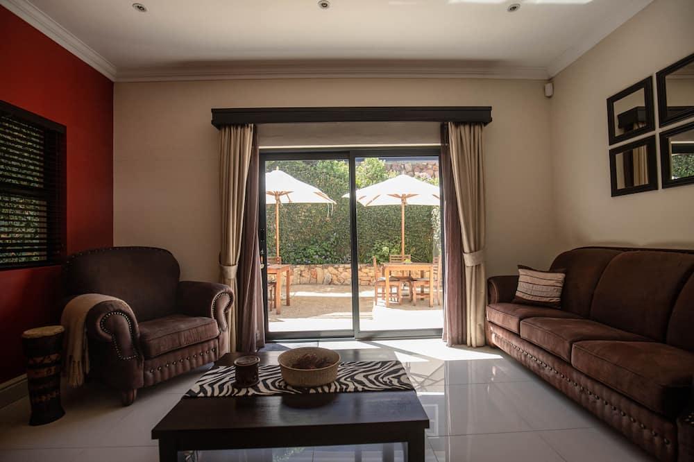 Двухместный номер «люкс» с 1 или 2 кроватями (Shingwedzi) - Зона гостиной