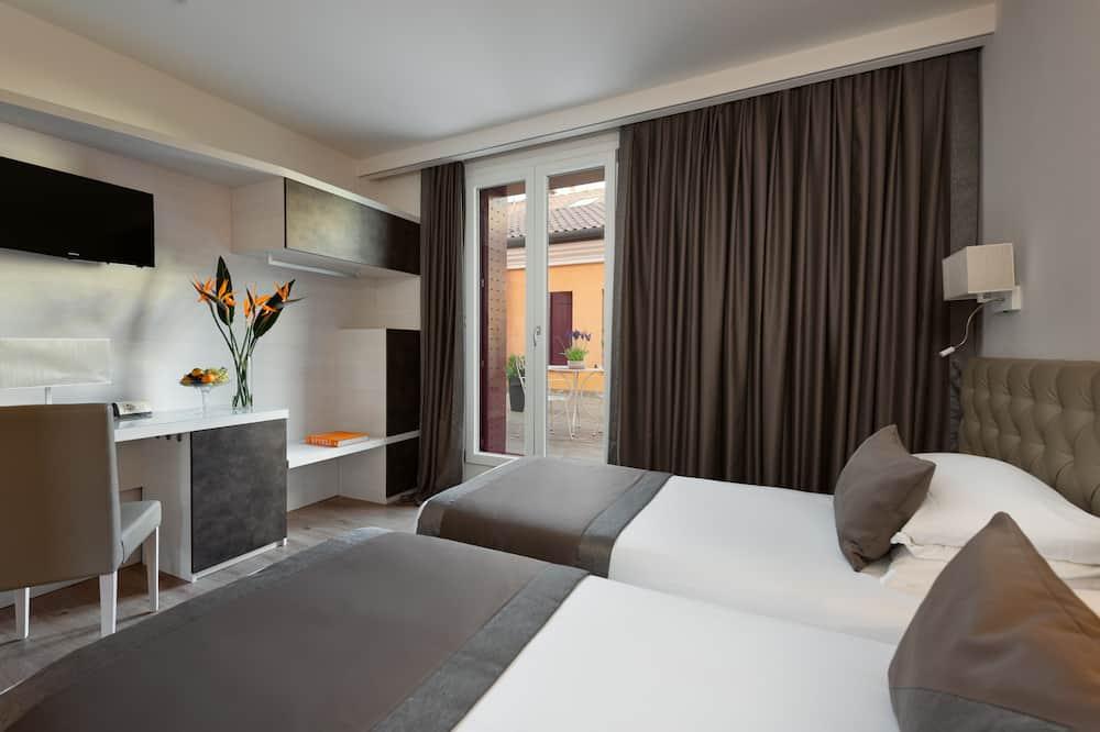 Superior-Doppel- oder -Zweibettzimmer, Blick auf den Innenhof - Zimmer