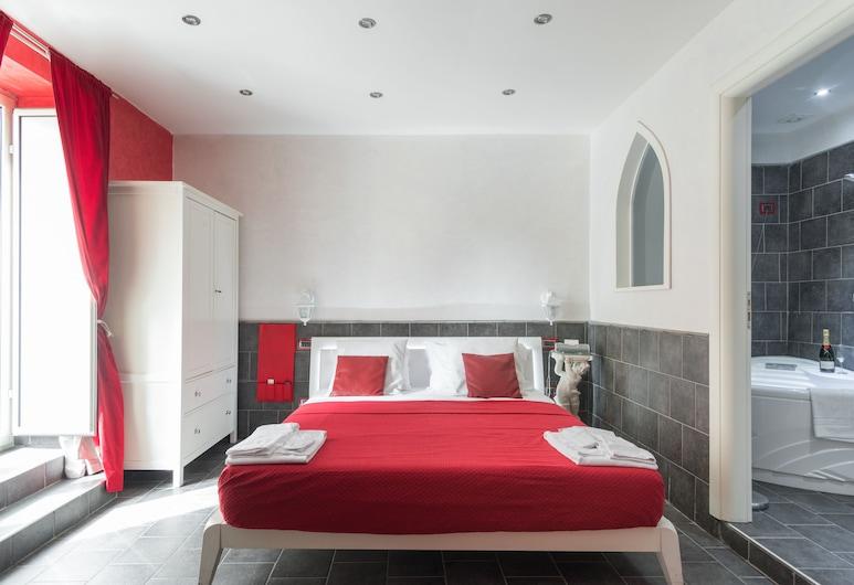 Covo degli Angioini - Town House Suites, Napoli, Suite, Gjesterom