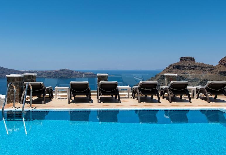 Agnadema Apartments, Santorini, Kolam Renang Luar Ruangan
