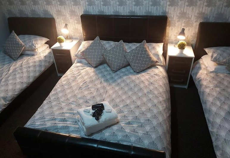 The Vale Hotel, Hull, Rodinný pokoj, Pokoj