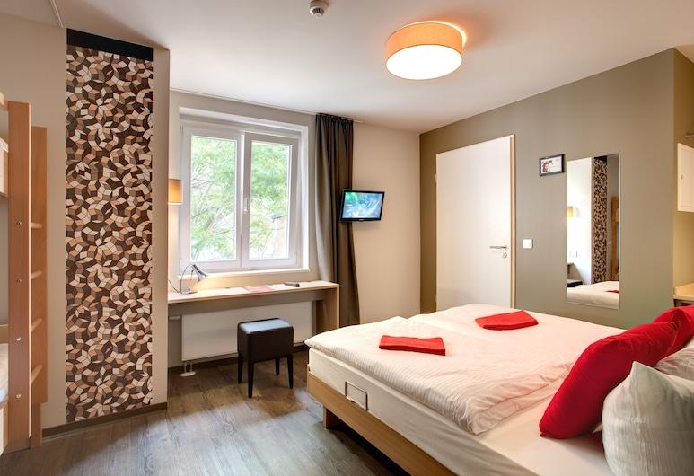 Meininger Hotel Berlin Mitte Humboldthaus, Berlin, Tomannsrom, Gjesterom