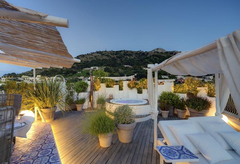 Hotel Villa Blu Capri , Anacapri, Hiên