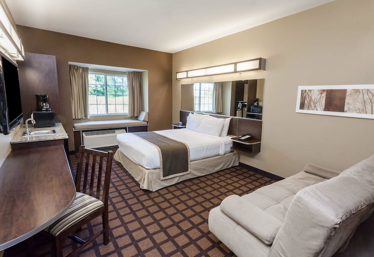 Microtel Inn & Suites by Wyndham Michigan City, Michigan City, Studio Suite, 1 Queen Bed, Accessible, Non Smoking, Guest Room View