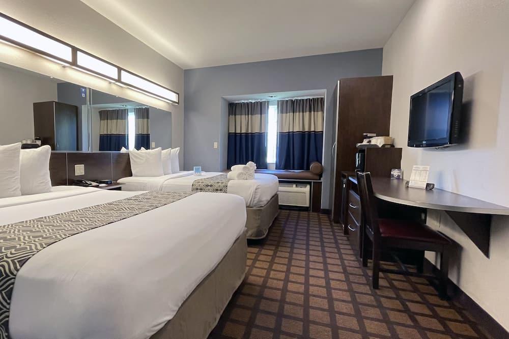 ห้องพัก, เตียงควีนไซส์ 2 เตียง, ปลอดบุหรี่ - ห้องพัก