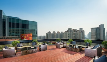 Foto van Jumeirah Himalayas Hotel Shanghai in Shanghai