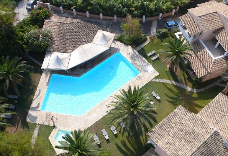 Folies Corfu Hotel Apartments, Corfù, Vista aerea