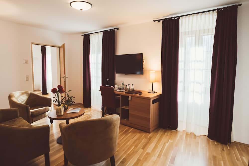 Suite Superior (Market View, German Twin Beds) - Área de Estar
