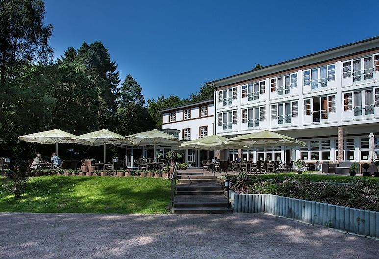 Hotel Waldhalle, Moelln, Αίθριο/βεράντα