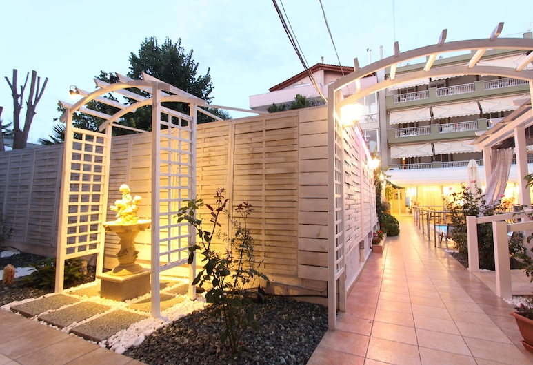 Hotel Mallas, Nea Propontida, Taras/patio