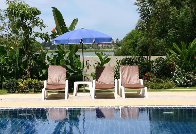 查汶湖景公寓酒店, 蘇梅島, 室外泳池