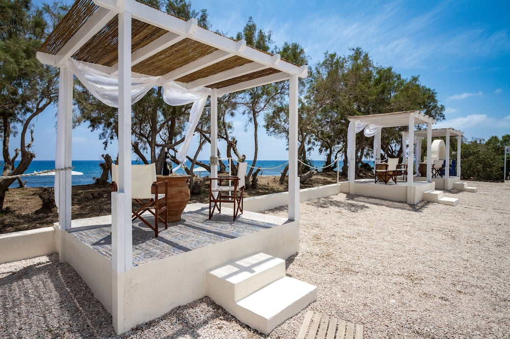 Suite, privatni bazen, pogled na more - Terasa/trijem
