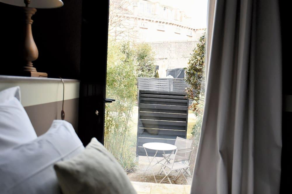 חדר קומפורט זוגי, טרסה - חדר אורחים