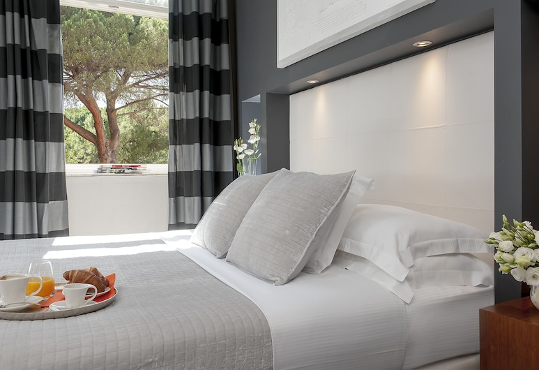 Hotel Metropolis, Rome, Single Room, Guest Room View