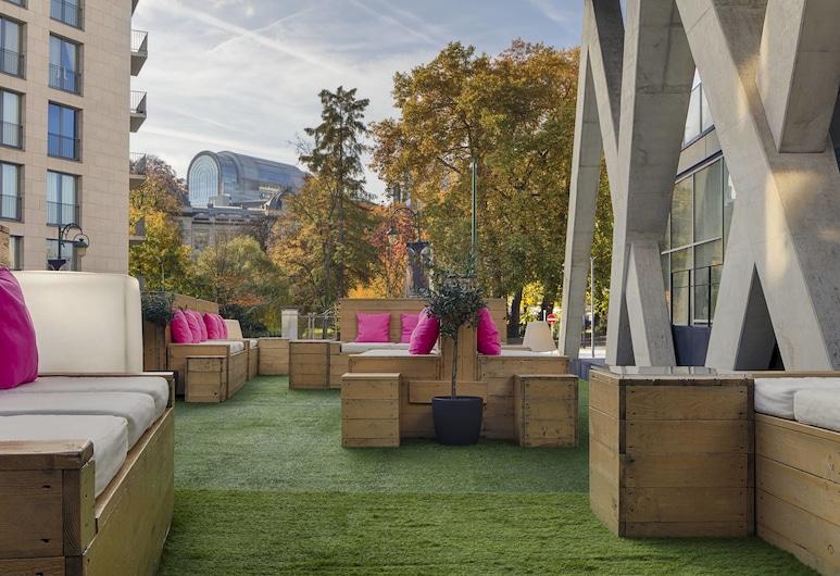 Aloft Brussels Schuman, Bruxelles, Terrasse/patio