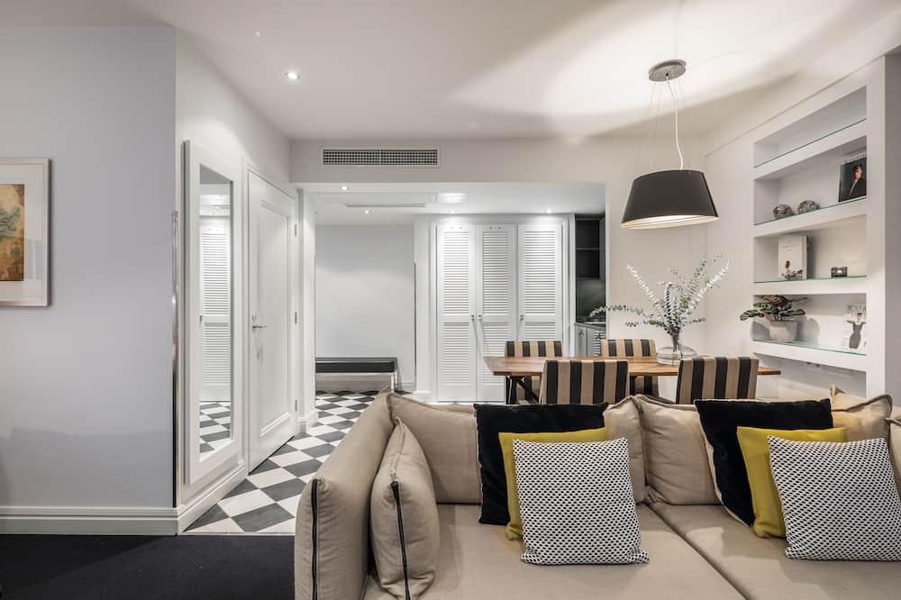 Habitación de lujo, 1 cama King size - Sala de estar