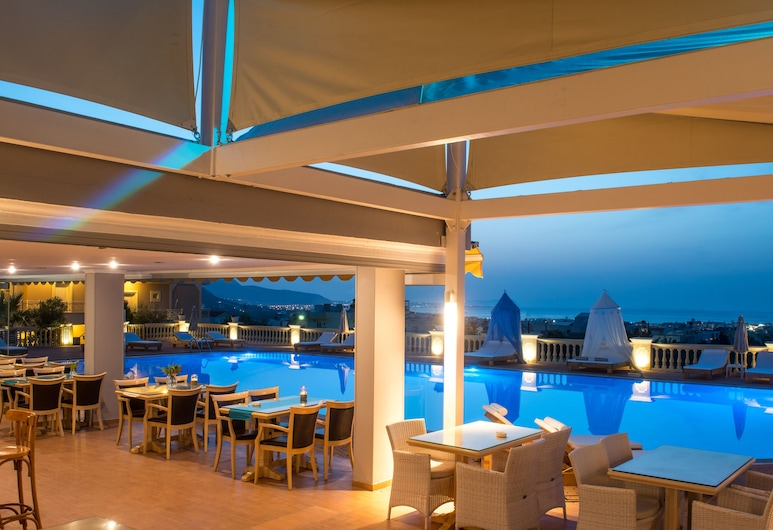 Notos Heights Hotel & Suites, Malia, Bar Tepi Kolam