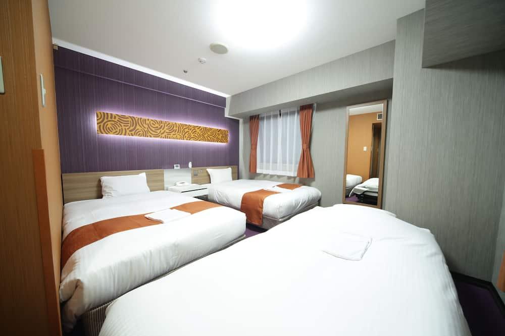 三人房, 吸煙房 (2 twin beds and 1 extra bed) - 客房