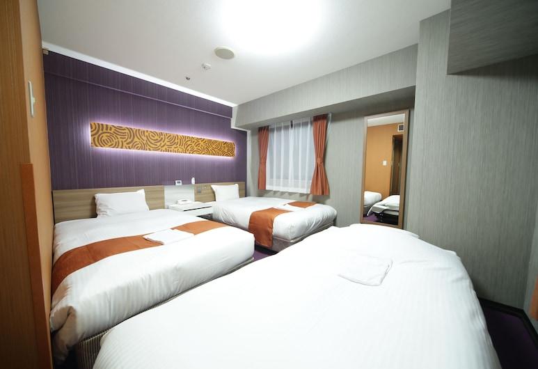 名古屋永安國際酒店, 名古屋, 三人房, 吸煙房 (2 twin beds and 1 extra bed), 客房