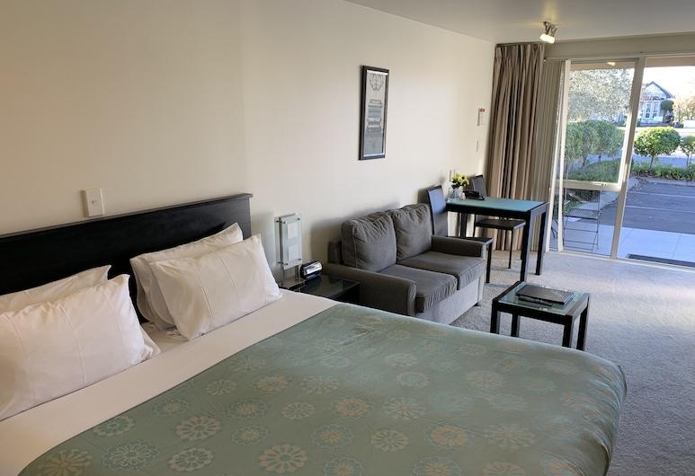 Salerno Motel Apartments, Christchurch, Deluxe Σουίτα, Δωμάτιο επισκεπτών